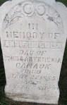 Annie Luella's gravestone