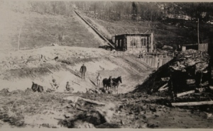 Building the Hydro Plant in 1914