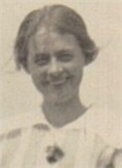 Edith Camack in her teens