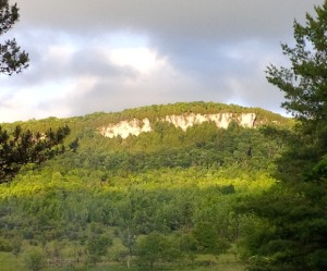 Old Baldy cliff.